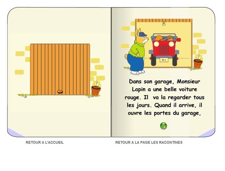 Les racontines sont de courtes histoires interactives en ligne destinées aux élèves de maternelle et du premier cycle.