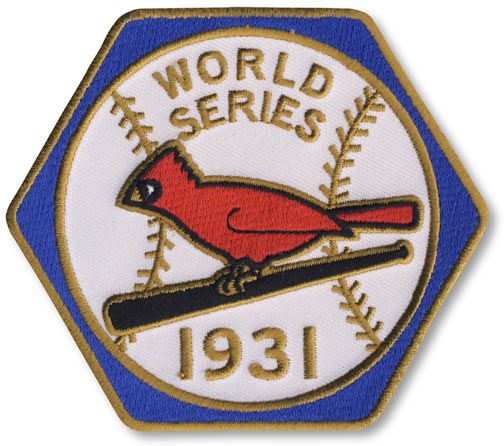 St Louis Cardinals 1931 World Series Champions Commemorative Embroidered Patch