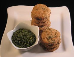 Parsley Pucker-Up's   homemade dog treats with parsley  Good for dogs with bad breath