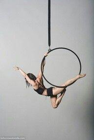 aerial lyra hoop...yes