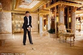 """Barron Trump. They call him the """"Little Donald"""" How messed up is that? (This kid must be a nightmare to deal with! When he came on stage afterTrump's speech at the RNC, he looked like a little American Psycho in training. His expression was flat and that was creepy. Scary kid. But he is a Trump so I didn't expect any more )"""