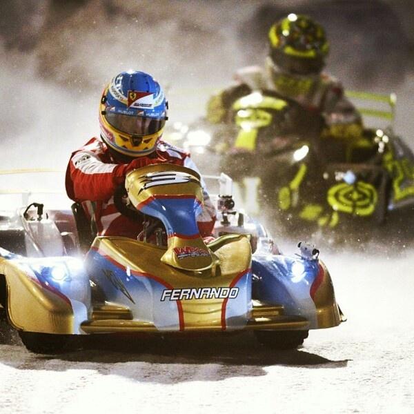 Fernando Alonso - Karting
