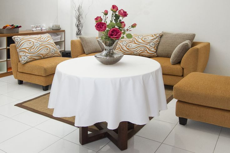 Table Cloth for round table. Available in various sizes.
