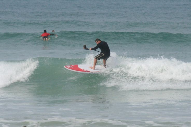 Surfing Muizenberg