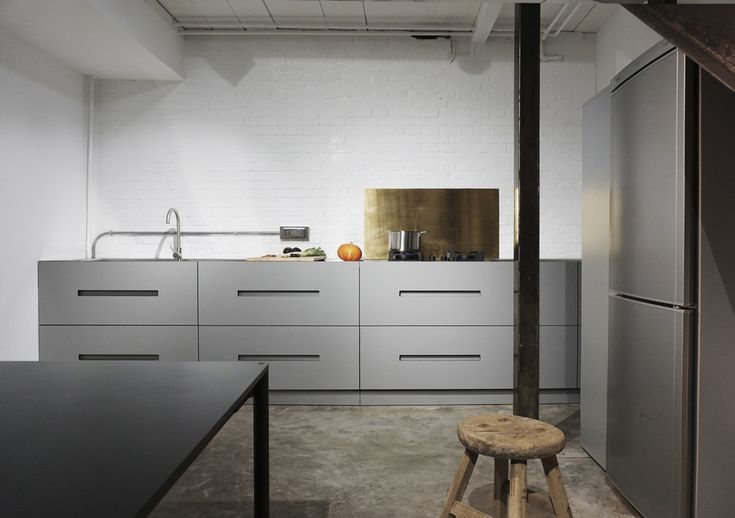 NICHE kitchen prototype by JANG. #furnituredesign #kitchendesign #interiordesign / realized for #GalleriaContinua in Beijing