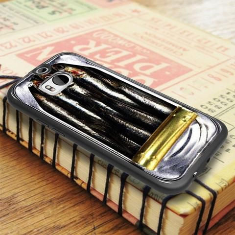Fresh Sardines Opened Cane HTC One M8 Case