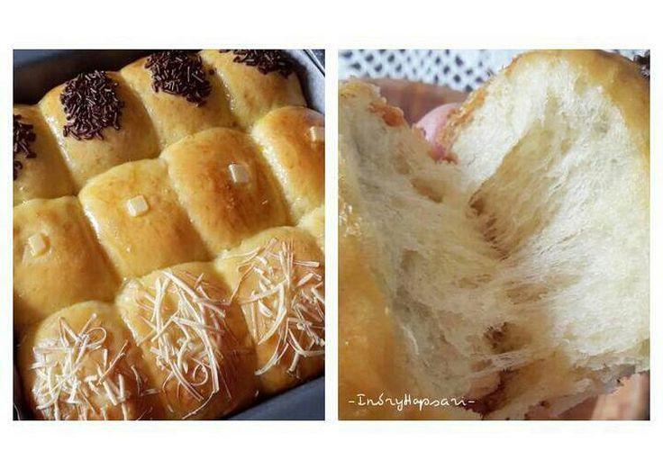 Roti manis kasur/sobek tanpa ulen empuk, enak 👍