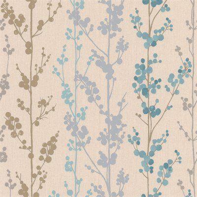 Graham & Brown Serenity Berries Wallpaper
