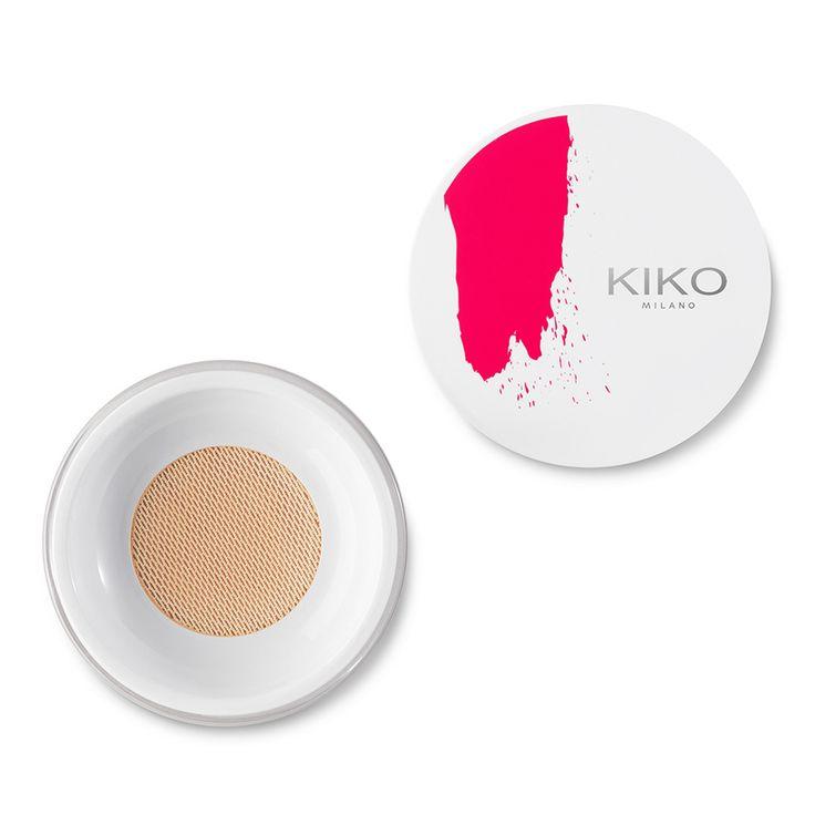 Fond de teint lumineux - Glacial Light Soft Sifter Foundation - KIKO MILANO