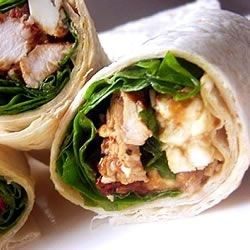 Chicken, Feta Cheese, and Sun-Dried Tomato Wraps Recipe - Allrecipes.com