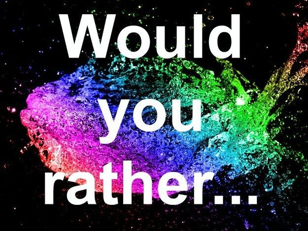 "Can We Guess Your Age From These ""Would You Rather"" Questions"