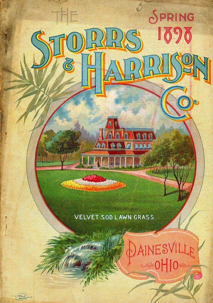 1898 Storrs and Harrison
