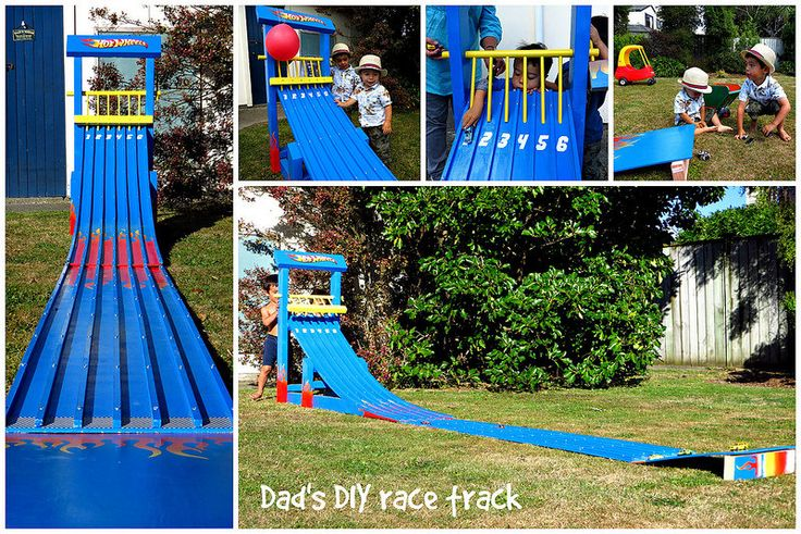 DIY toy car ramp. Made by Knoxy.  Inspired by http://growingupgardner4.blogspot.co.nz/2013/05/diy-race-track-tutorial.html