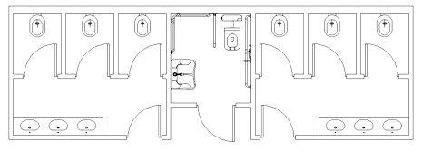bagni pubblici dwg - servizi igienici dwg (1)