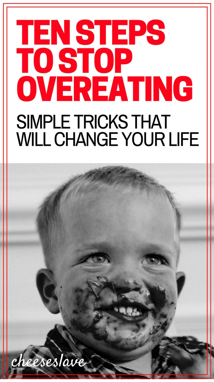 Ten Steps To Stop Overeating P