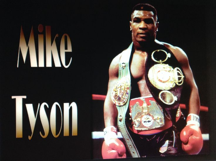Mike Tyson is amazing!!