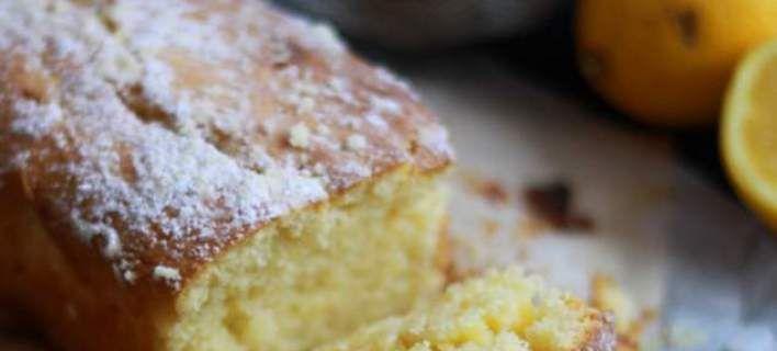 Κέικ με λεμόνι και μασκαρπόνε