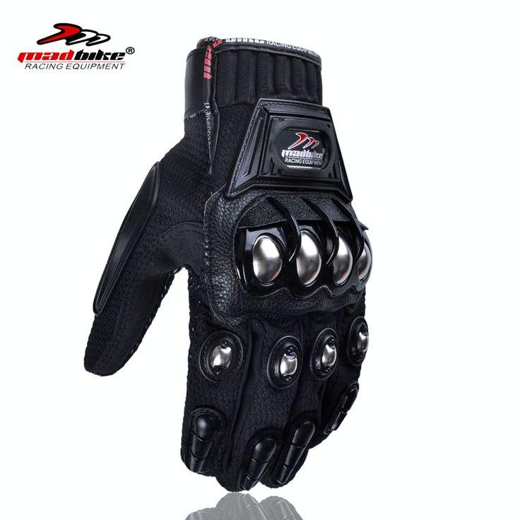オートバイフルフィンガー男性バイク用手袋アクセサリー&パーツ保護具手袋用オートバイ鋼合金を保護