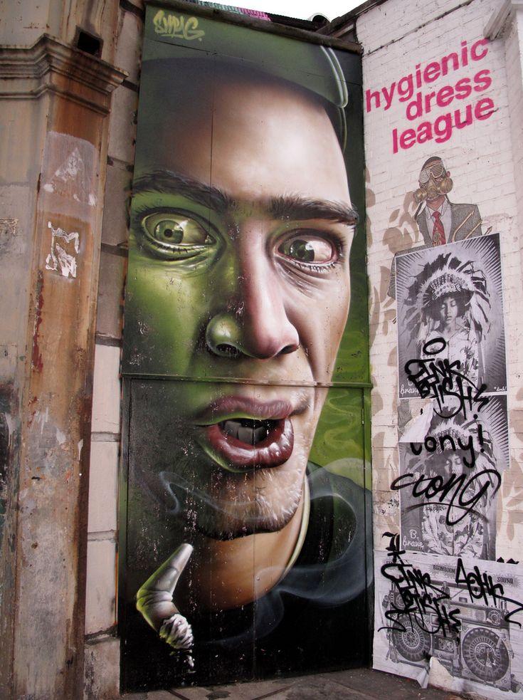Shoreditch Graffiti: Shoreditch Graffiti (by Duncan)