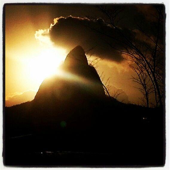 구름 모자쓴 숫마이산 ᆢ^^