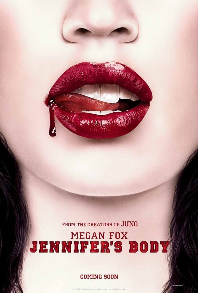 Jennifer's Body (2009)  Director:  Karyn Kusama  Cast: Megan Fox, Amanda Seyfried, Johnny Simmons, Adam Brody, Kyle Gallner