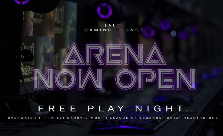 As a thank you to our gaming community our New Arena will be FREE TO PLAY tonight! Come and experience the brand new set up. (5-10pm)  @playoverwatch #altgaminglounge #blizzardentertainment #blizzard #overwatch #playoverwatch #overwatchgame #esports #xboxone #xbox #ps4 #pcgaming #nottingham #eastmidlands #derby #newark #mansfield #csgo #leagueoflegends #fifa17 #retrowave #gamingbar #twitch #twitchtv #videogames