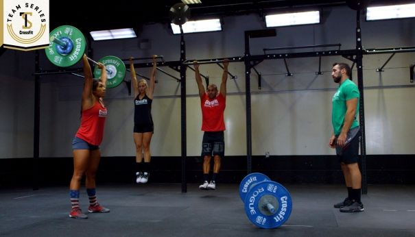2015 CrossFit Team Series: Week 2 | CrossFit Games