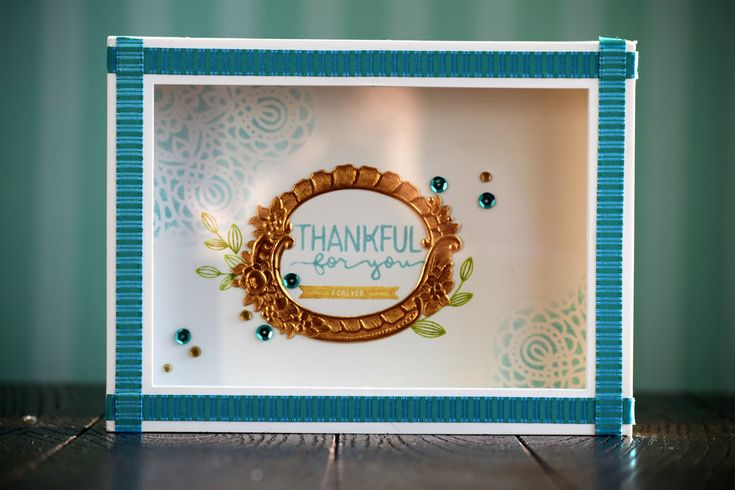 Framed Art / Teacher gift - who says card making supplies are only for making cards? :-) #SSSCherished @SimonSaysStamp http://wp.me/p3qq2h-1h2?utm_content=buffer868c8&utm_medium=social&utm_source=pinterest.com&utm_campaign=buffer
