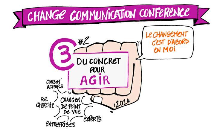 Du concret pour agir !  Sujet central de la 2ème édition de la Toulouse Change Communication Conference.