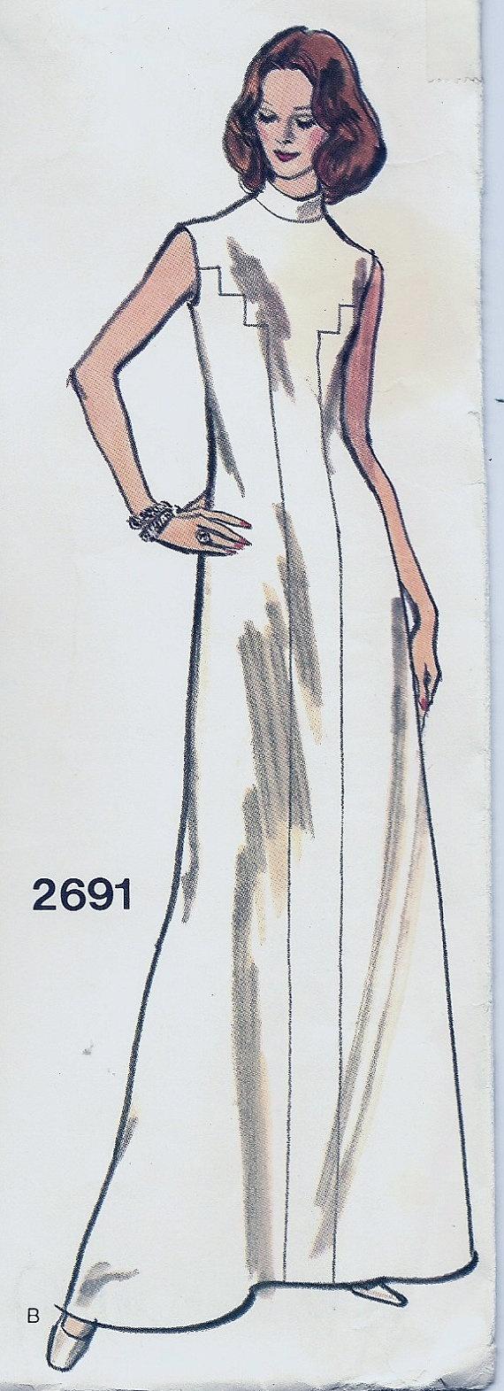 Vogue Couturier Design 2691  Manuel Pertegaz  UNCUT  by GoVogue, $22.00