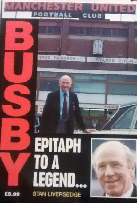 Busby - Epitaph to a Legend Author - Stan Liversedge