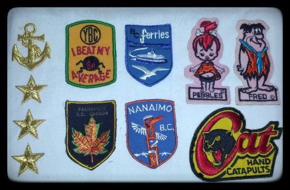 VTG Patches.