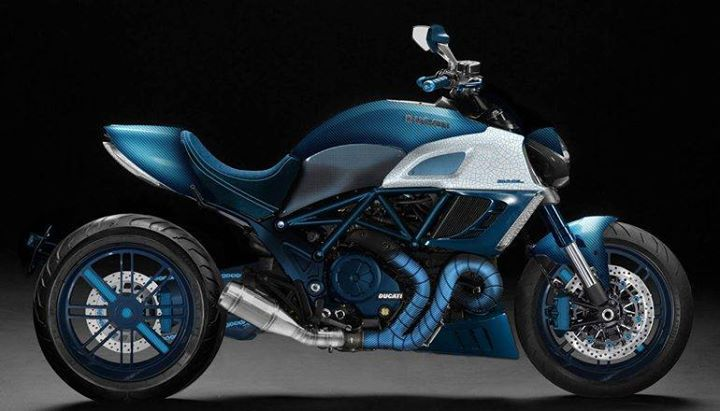 Garage Italia Custom Ducati Diavel #DucatiDiavel #Ducati #Diavel
