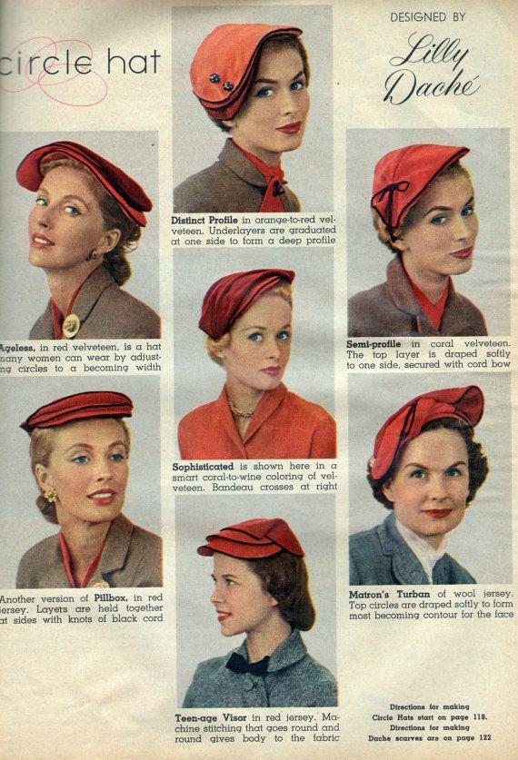 pdf vintage hat pattern