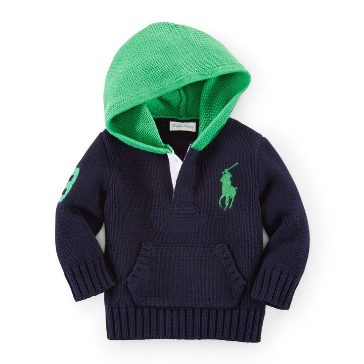 Cotton Rugby Hoodie