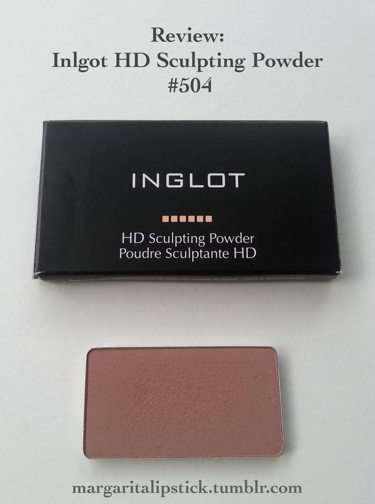 """Review   Inglot HD Sculpting Powder in #504"" #Inglot #sculpting #contour #contouring #bronzer #benefit #hoola #makeup #makeupreview #beauty #beautyproduct #cosmetics #beautybrands #bblogger #bbloggersau #ausbeautybabes"