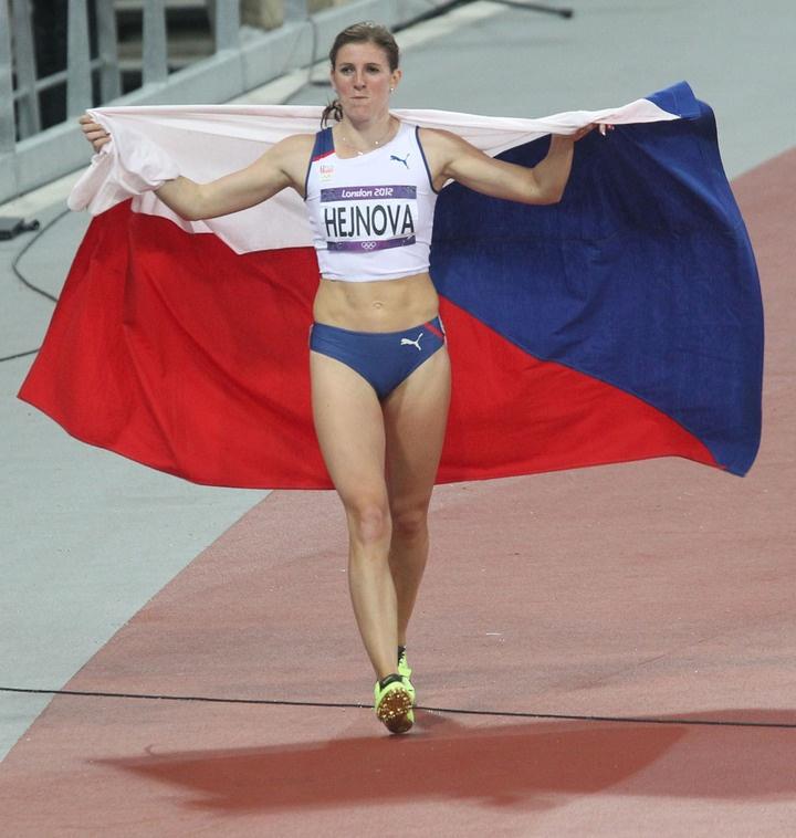 Česká překážkářka Zuzana Hejnová během bronzového finále OH 2012 v Londýně. Bronze medal for Czech republic :o)