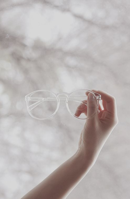glasses transparent