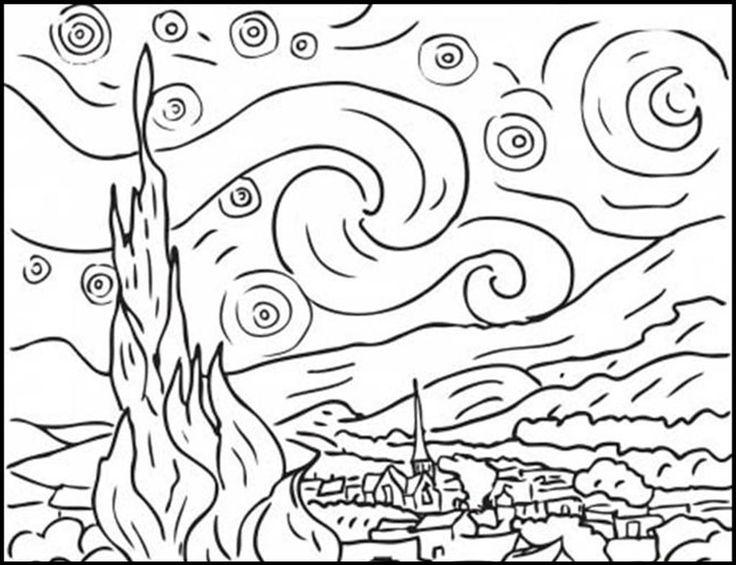 disegno-notte-stellata.jpg (1023×786)