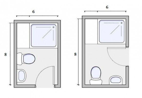 Small Bathroom Design Floor Di 2020