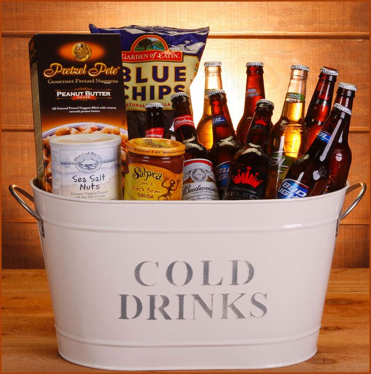 Bucket O' Bud Gift Basket - SEND Liquor