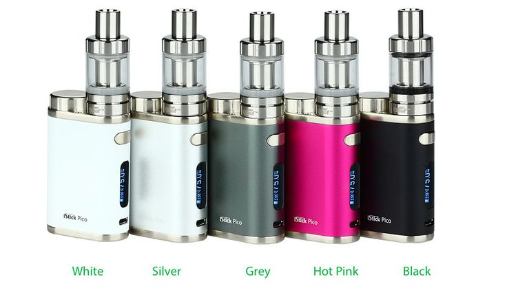 ELEAF ISTICK PICO 75W kit with MELO 3 MINI (2ml) with 0.3Ohm and 0.5Ohm Coil & VW/Bypass/TC(Ni,Ti,SS,TCR) modes!