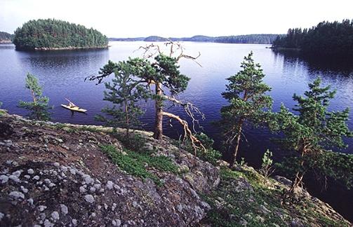 Linnansaari National Park. Savonlinna, Finland.