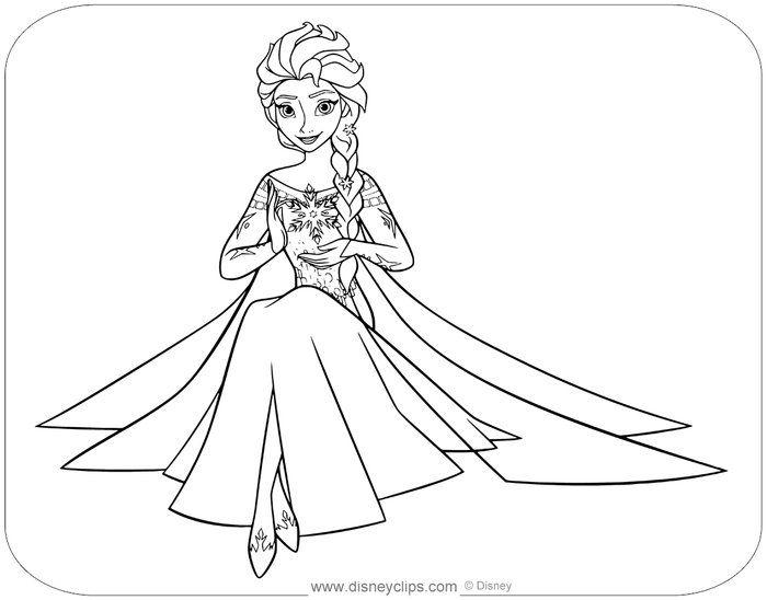 Frozen Elsa Coloring Pages Frozen Coloring Pages Frozen Coloring Disney Coloring Sheets