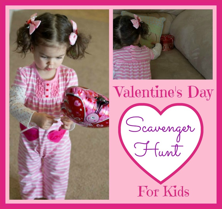 valentine's day scavenger hunt ideas for him