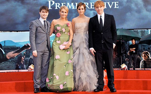 J.K. Rowling writing 'Harry Potter' prequel… for the stage | EW.com >>> OH MY GOD! (repeat to self several hundred times)
