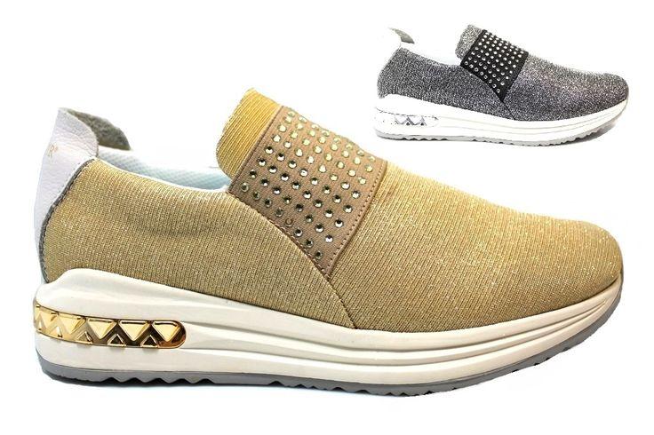#CAFeNOIR #Sneakers #Scarpe #Donna #Comode #Fashion con spedizione e sostituzione gratuita pagabili alla consegna disponibili su https://www.scarpe-moda.com/cafenoir-mda945-argento-oro-sneakers-scarpe-donna-comode-fashiom-p-2786.html