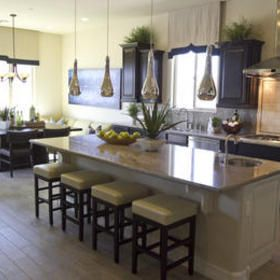 taylor morrison kitchens   An open-concept kitchen in a Taylor Morrison model home at Blackstone ...