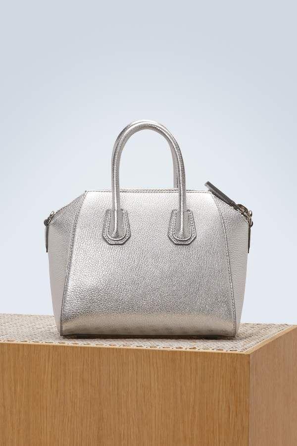 60e4d626788c Givenchy Antigona mini bag - Givenchy silver bag