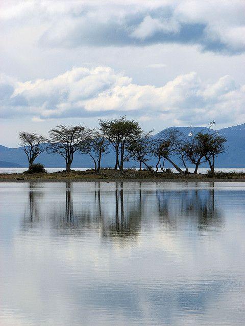 Lago Fagnano, Tierra del Fuego, Patagonia argentina.